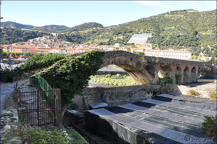 Taggia et son célèbre pont romain Pont-romain-taggia21fev10_01