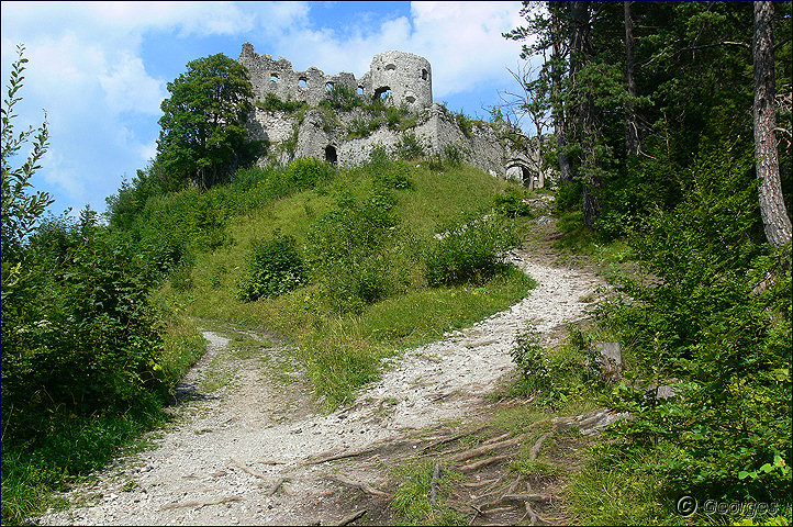 Reutte, les ruines d'Ehrenberg Ruines-reutte01oct09_04