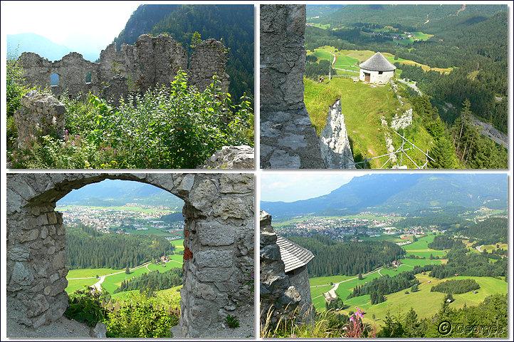 Reutte, les ruines d'Ehrenberg Ruines-reutte01oct09_06