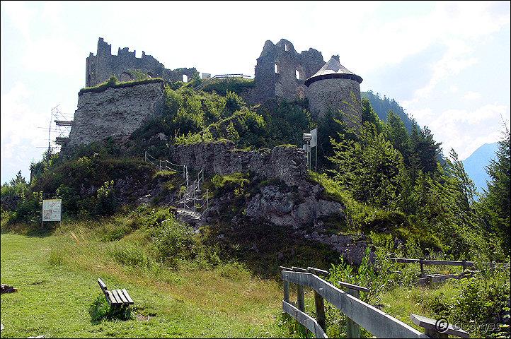Reutte, les ruines d'Ehrenberg Ruines-reutte01oct09_07